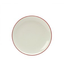 Colorwave Raspberry 21cm Coupe Salad Plate (Set of 4)
