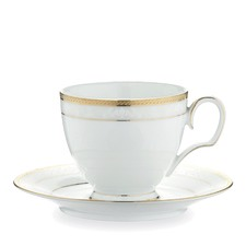 Hampshire Gold Tea Cup and Saucer Set