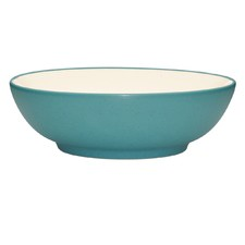 Colorwave Turquoise 24cm Round Vegetable Serving Bowl