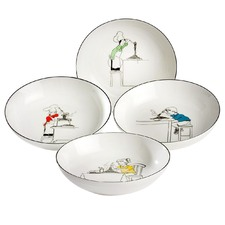 Le Restaurant 4 Pasta Bowl Set
