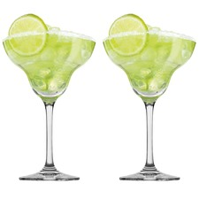 Tasting Hour Margarita Glasses (Set of 2)