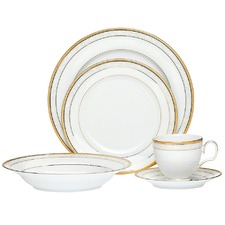 Hampshire Gold 20 Piece Dinner Set with Gift Box