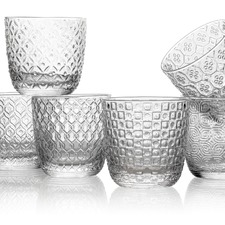 IVV Clear Sixties 310ml Glass Tumblers (Set of 6)