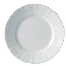 White Noritake 27.5cm Porcelain Dinner Plates (Set of 4)