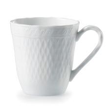 White Noritake 295ml Porcelain Mugs (Set of 2)