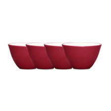 Colorwave Raspberry 10cm Mini Bowl (Set of 4)