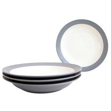 Slate Colorwave Stoneware Pasta Bowls (Set of 4)
