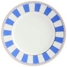 Dark Blue Carnivale 16cm Porcelain Cake Plates (Set of 2)