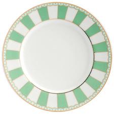 Apple Green Carnivale 16cm Porcelain Cake Plates (Set of 2)