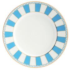 Light Blue Carnivale 16cm Porcelain Cake Plates (Set of 2)