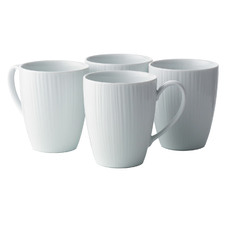 Conifere 360ml Porcelain Mugs (Set of 4)