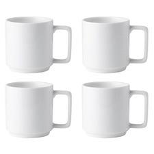Noritake Stax 450ml Mugs (Set of 4)