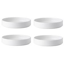 Noritake Stax 19cm Deep Plates (Set of 4)