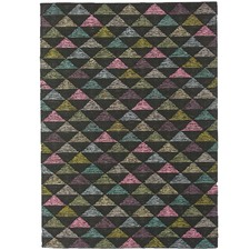 Jeana Stepping Hand Knotted Wool Blend Rug