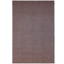 Brown Diamond Wool Rug