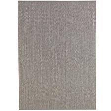 Light Grey Seasons Stripes Outdoor Rug