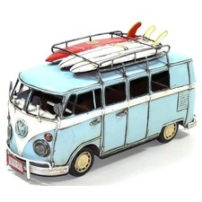Kombi Van and 3 Surfboard