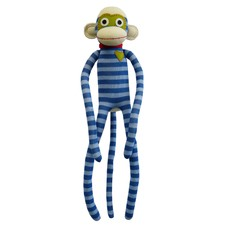 Sockie Monkey Stripe Plush Toy