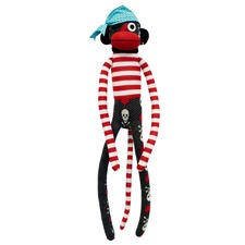 Sockie Monkey Jolly Roger Plush Toy