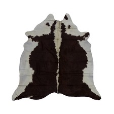 Reddish Brown Genuine Cow Hide Rug