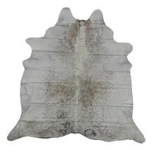 Light Grey Genuine Cow Hide Rug