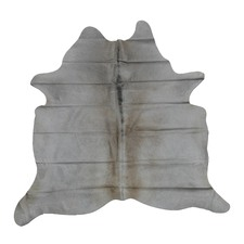 White Exotic Cow Hide Rug
