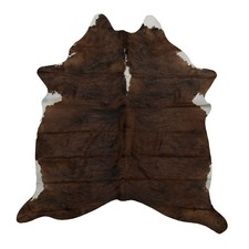 Walnut Genuine Cow Hide Rug