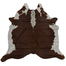 Espresso Genuine Cow Hide Rug