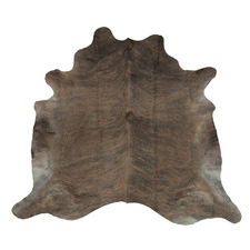Light Brown & White Cow Hide Rug