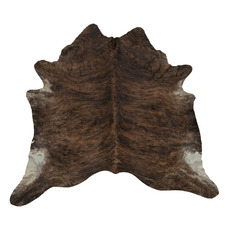 Reddish Brown Exotic Cow Hide Rug