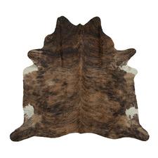 Sandy Brown Exotic Cow Hide Rug