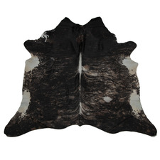 Black & White Exotic Cow Hide Rug