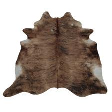 Black & Brown Exotic Cow Hide Rug