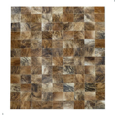 Medium Brown Exotic Cow Hide Rug