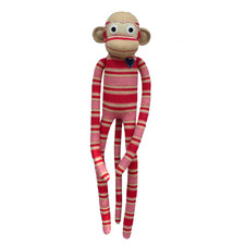 Lee The Sock Monkey Plush Toy