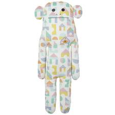 Tall Patterned Jana The Monkey Plush Toy