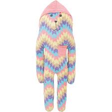 Extra Tall Hooded Elliot Bunny Plush Toy