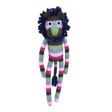 Retro Singa Sock Lion Plush Toy