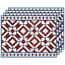 Currant & Blue Marsala Placemats (Set of 4)