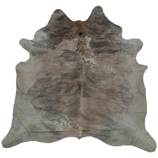 Brown & Grey Carlotte Natural Cowhide Rug