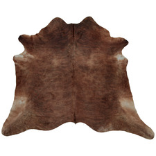 Brown Tyrrel Natural Cowhide Rug