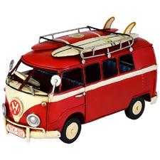 20cm Volkswagen Kombi Van Metal Ornament