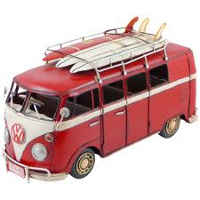 32cm Volkswagen Kombi Van Metal Ornament