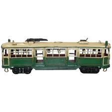 30cm Green W-Class Melbourne Tram Metal Ornament