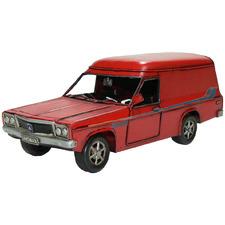 Red Holden HZ Sandman Car Metal Ornament