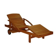 Rivers Sun Lounger and Cushion