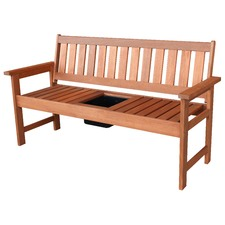 Barossa Drinks Bench with Tray
