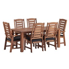 7 Piece Windsor Outdoor Dining Table & Chair Set