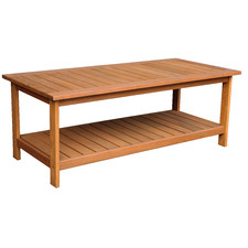 Natural Avoca Wood Outdoor Coffee Table