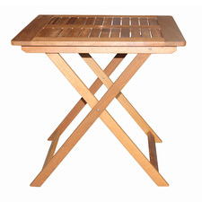 Natural Yarra Outdoor Folding Table